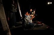 関川村の御神楽と一緒に演奏